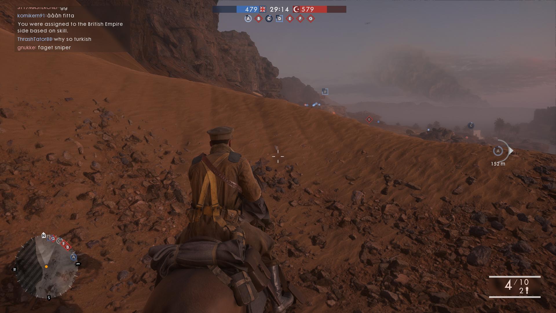 Battlefield 4:n moottoripyörät ovat vaihtuneet hevosiin.