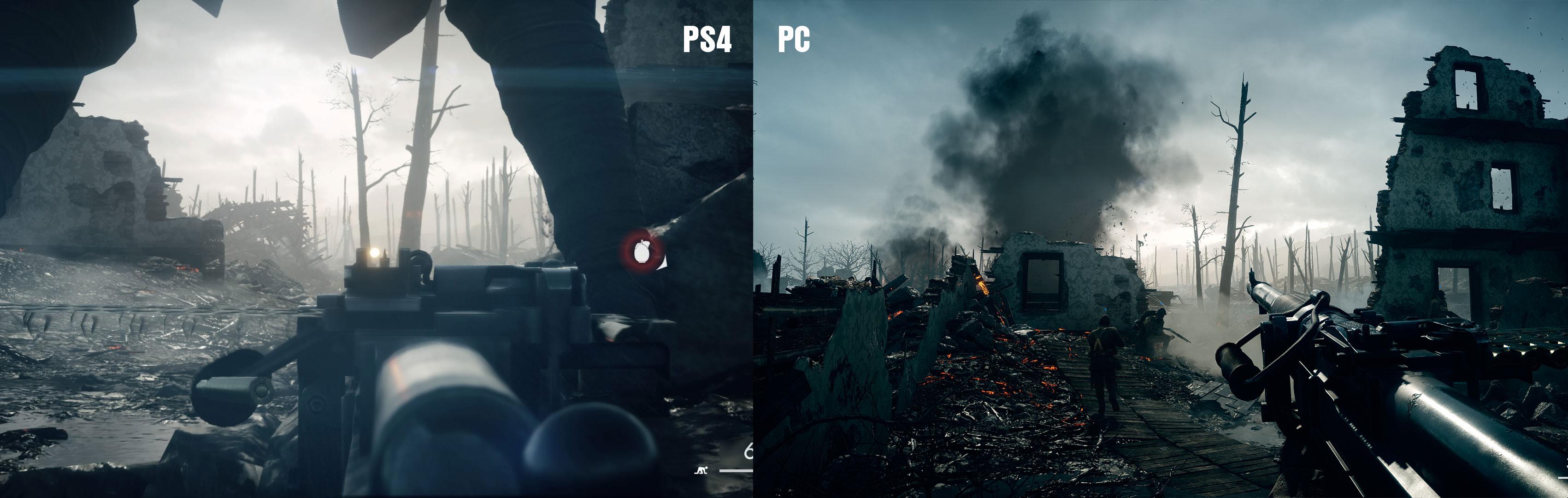 PS4 ja PC-versio ovat hyvin saman näköisiä. Eroja toki löytyy, mutta PS4-versio on yksi konsolin kauniimpia pelejä.