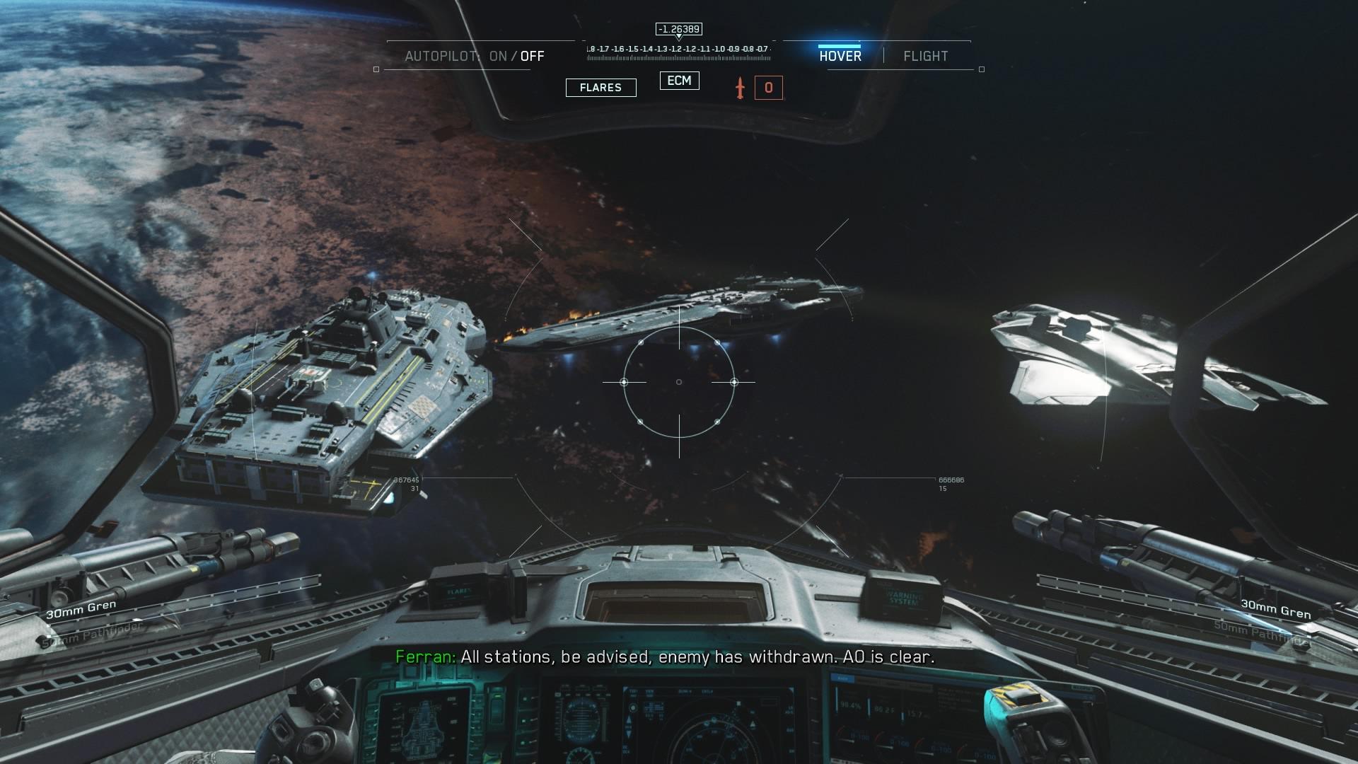Vapaa sodankäynti avaruudessa on suurta herkkua.