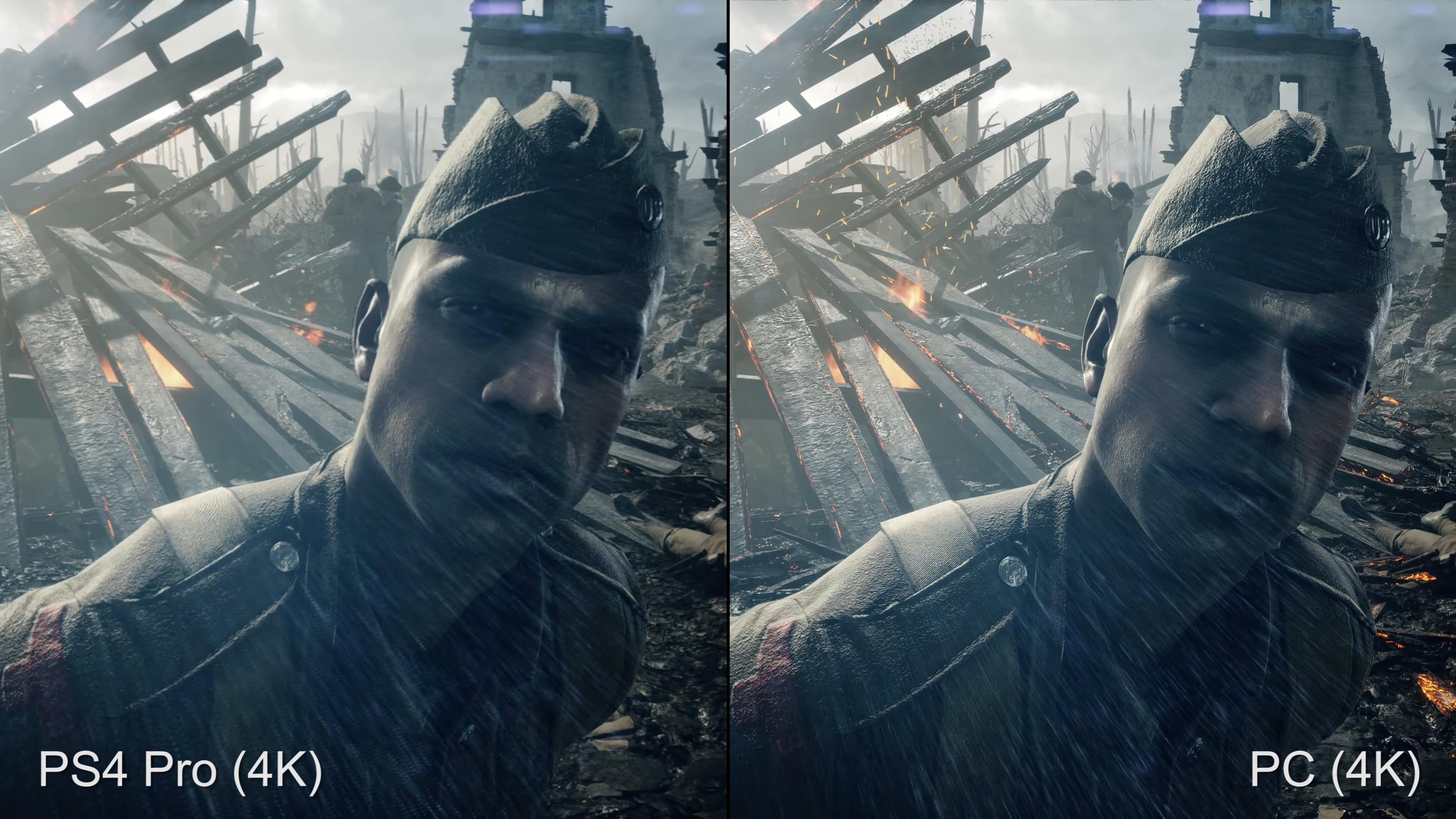 Kuten videostakin selviää, on PS4 Pro:n ja PC:n 4K-kuvalla selvä ero.