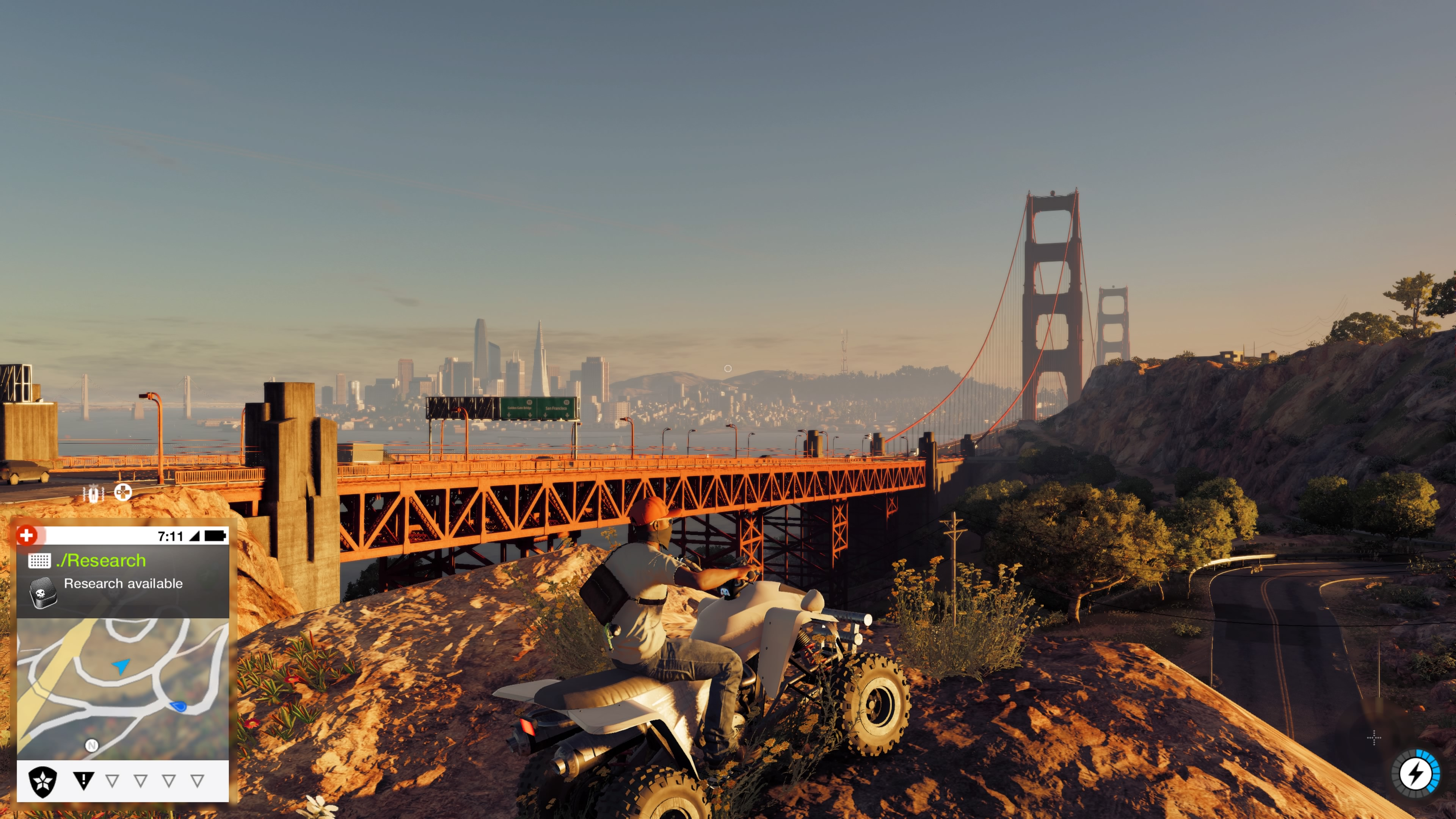 Pelin San Francisco on todella kaunis ja esikuvansa näköinen.
