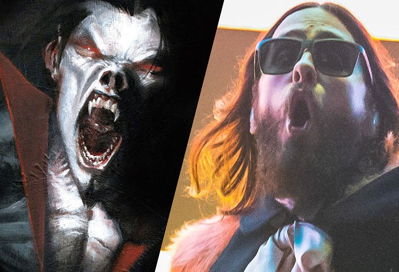 Jared Leto Morbius >> Jared Leto Muuntuu Vampyyriksi Sonyn Ja Dc Comicsin Morbius