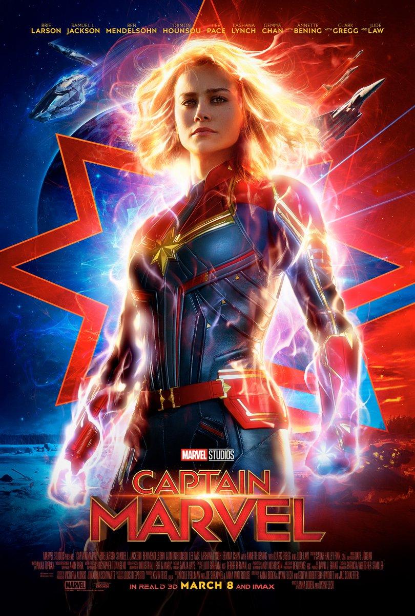 Kuvahaun tulos haulle Captain Marvel juliste