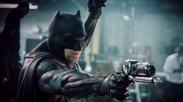Ben Affleck Batmanina.