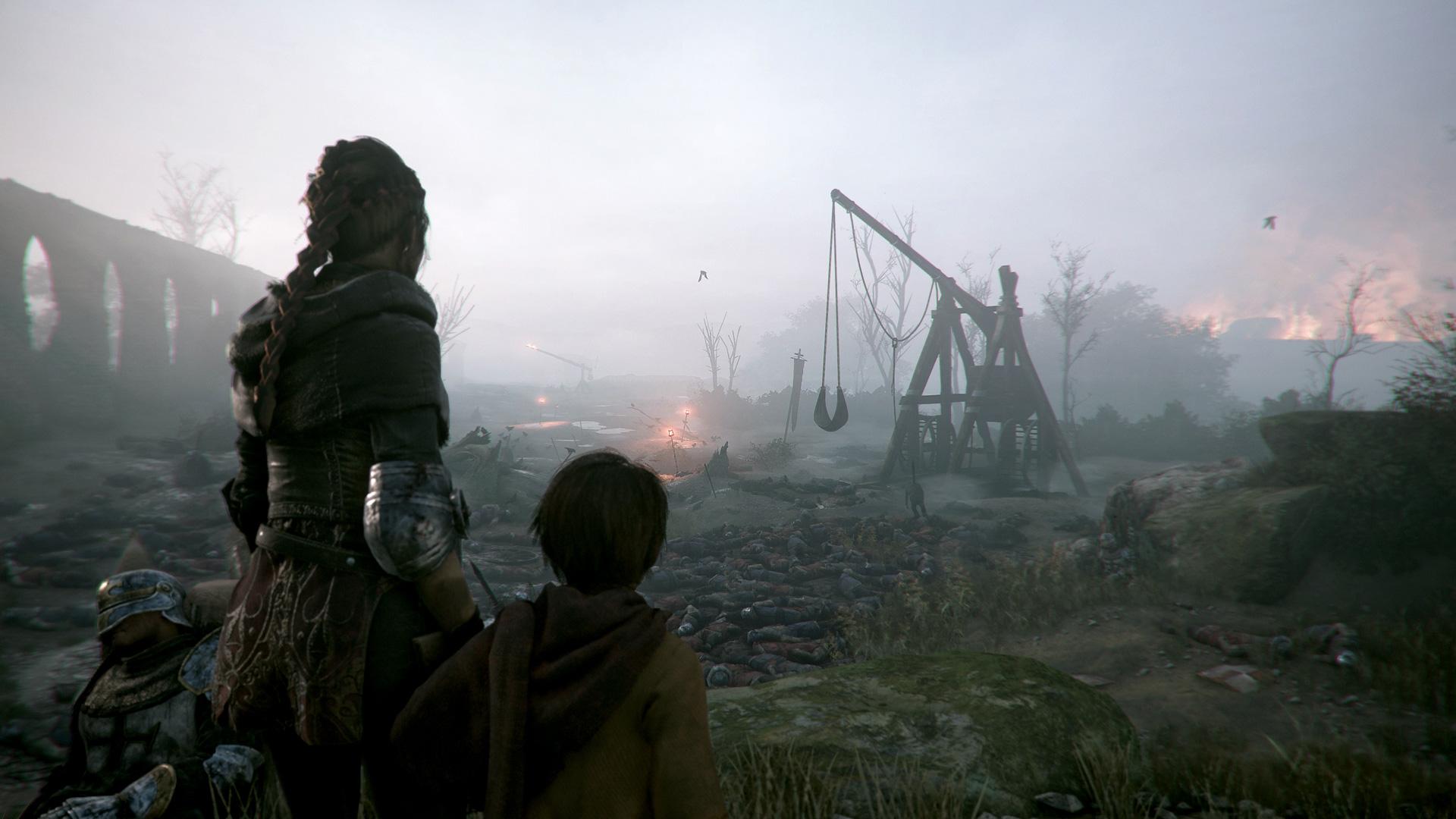A Plague Tale: Innocence -pelin tunnelmaa.