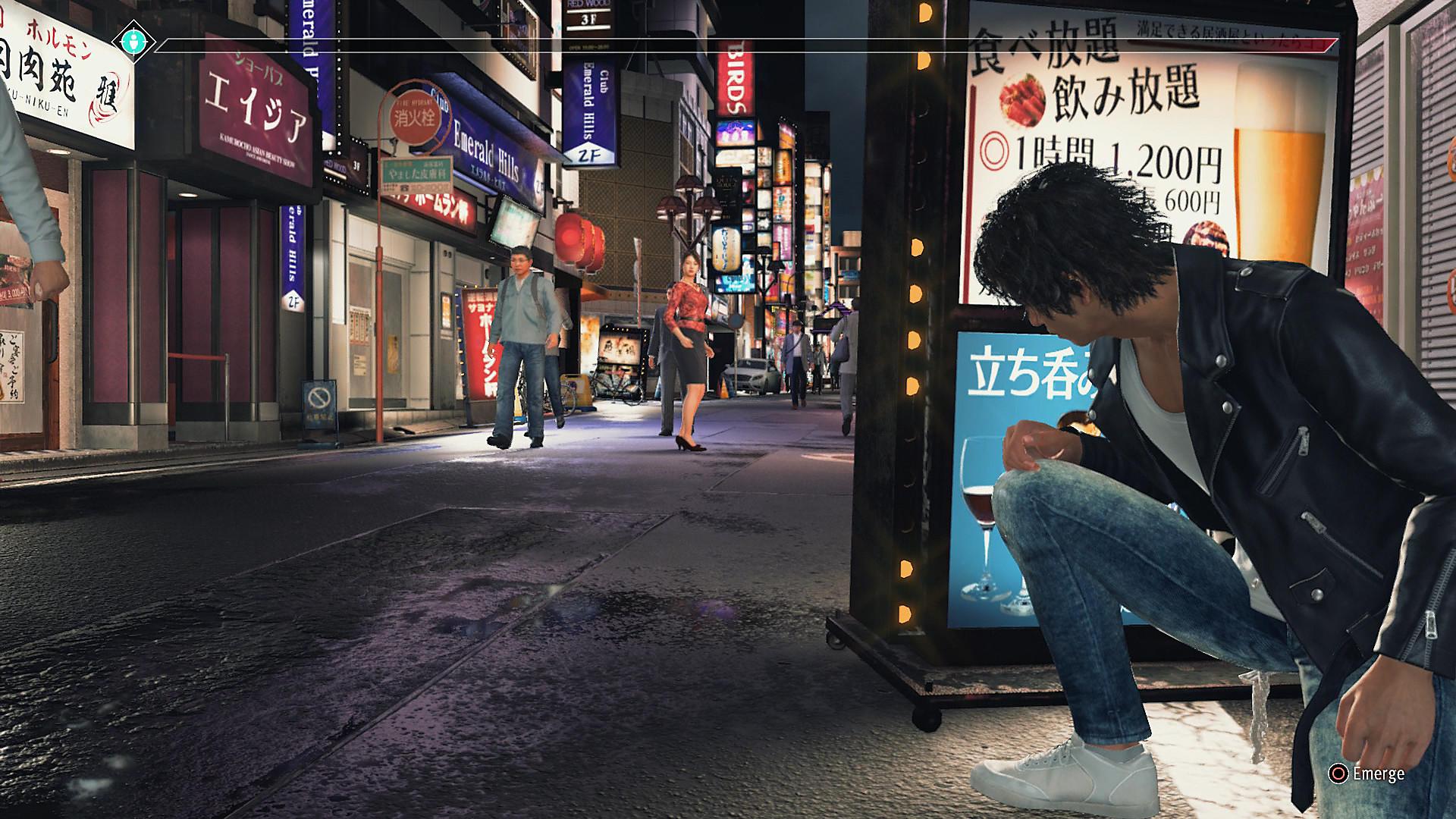 Salapoliisi hiippailee huomaamattomasti Tokion kaduilla.