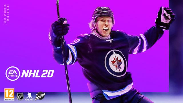 NHL 20 kansikortti.