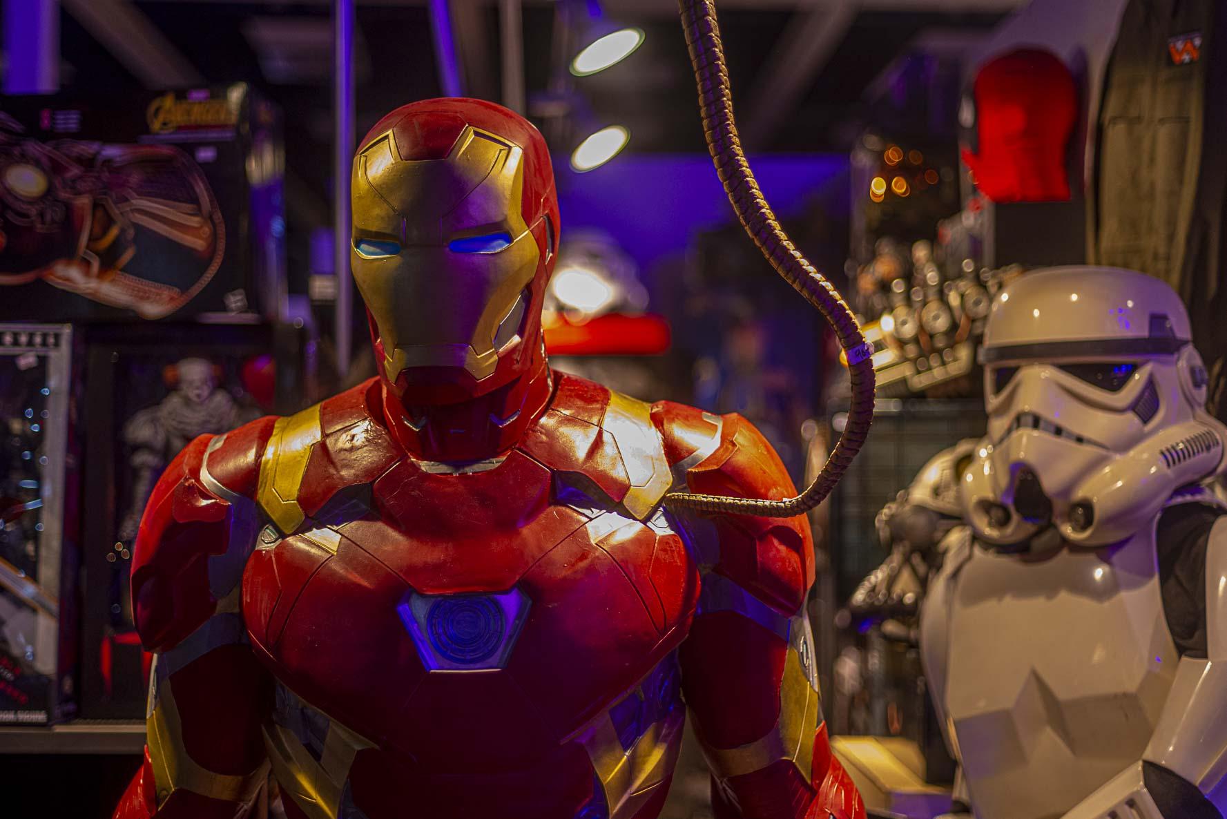 Iron-Man ja Stormtrooper