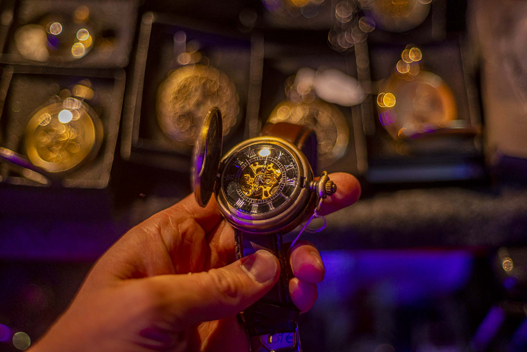 Steampunk-kello