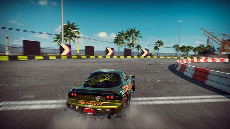 Driftaava Mazda.