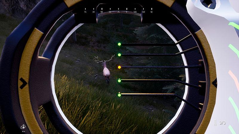 Hunting Simulator 2 mahdollistaa myös jousipyssyllä ampumisen.