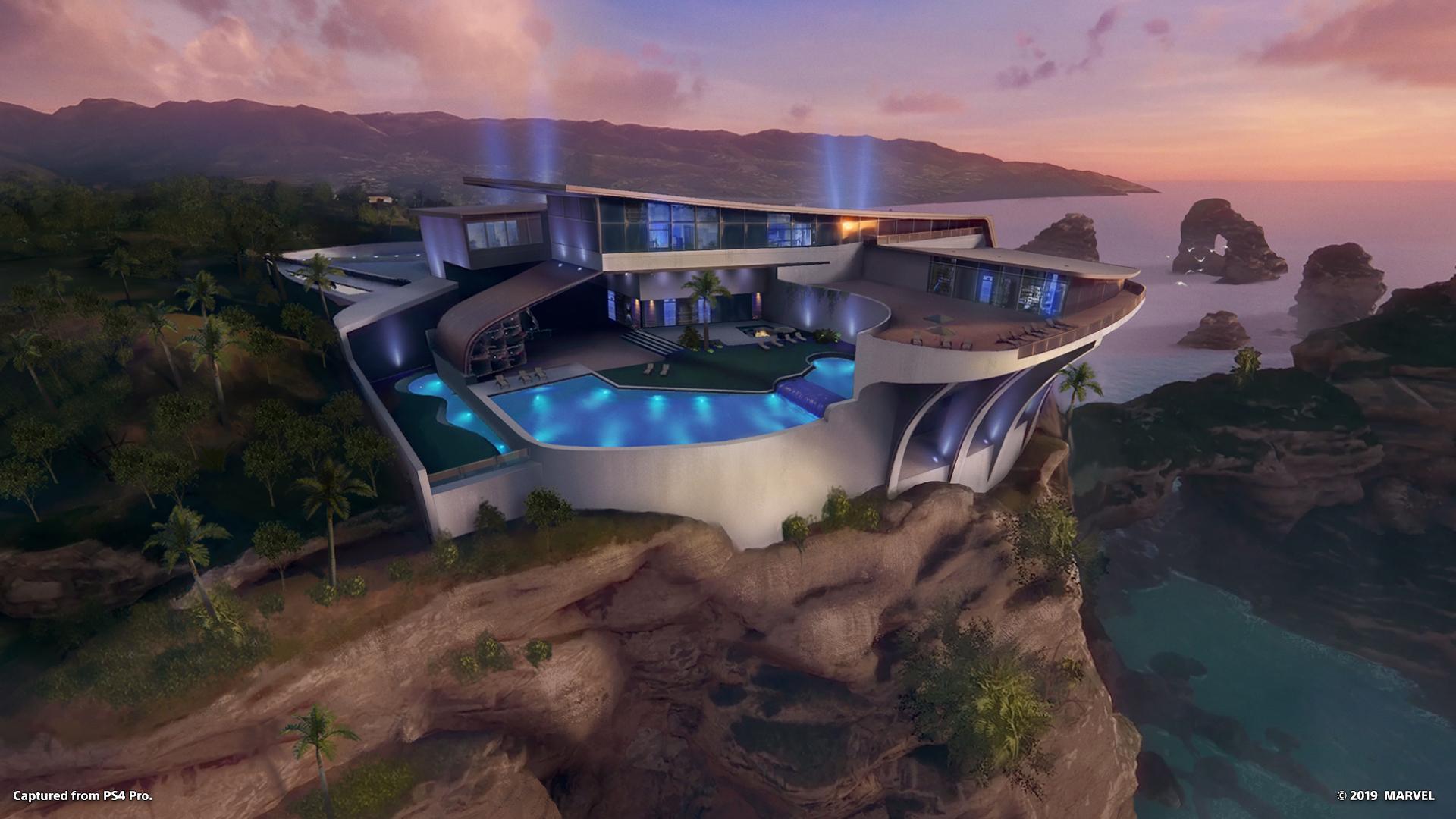 Marvel's Iron Man VR -pelin luksuskartano.