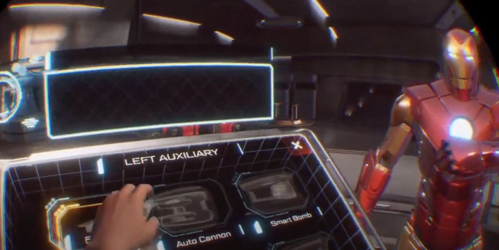 Marvel's Iron Man VR -pelin haarniska
