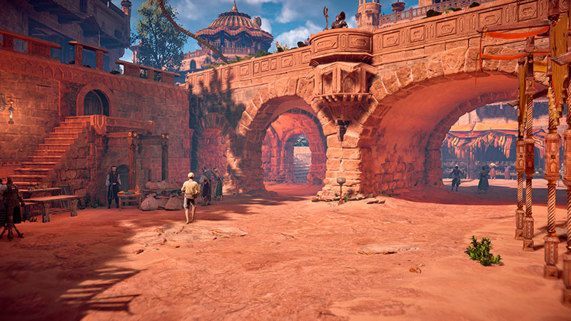Horizon Zero Dawn PC-version grafiikkaa esiteltynä.