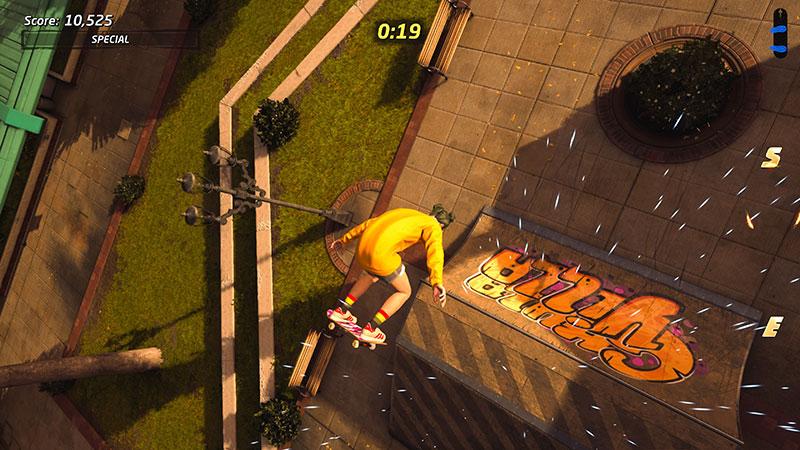 Tony Hawk's Pro Skater 1 + 2 -pelin ramppihaaste.