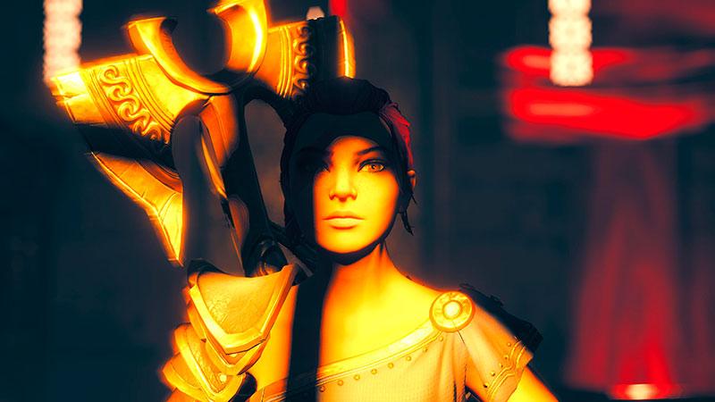Immortals: Fenyx Rising -pelin päähenkilönainen.
