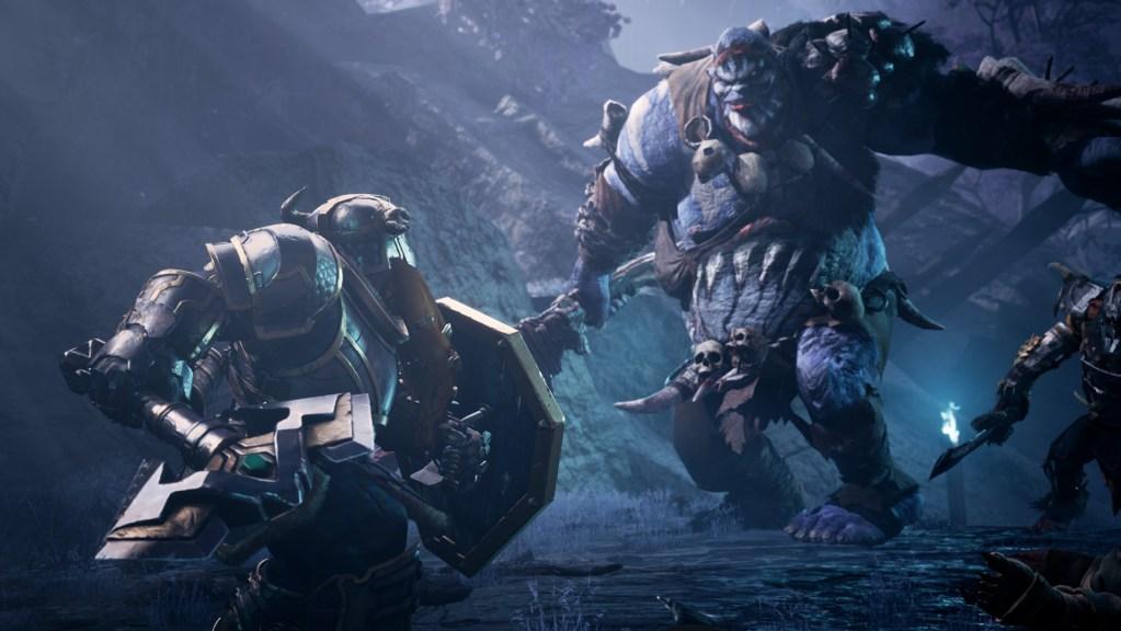 Dungeons & Dragons: Dark Alliance -hirviöt taistelussa.